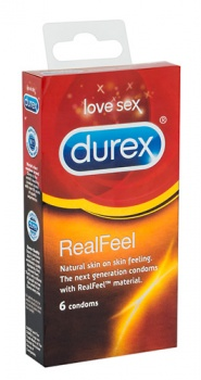 430048 Kondómy Durex Real Feel